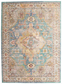 Shayna Rug 250X350 Modern Light Grey/White/Creme Large ( Turkey)
