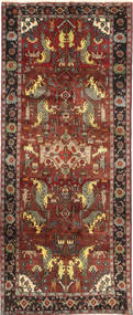 Kurdi Rug 135X295 Authentic  Oriental Handknotted Dark Red/Light Brown (Wool, Persia/Iran)