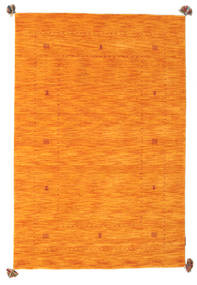 Loribaf Loom Rug 123X183 Authentic  Modern Handknotted Orange (Wool, India)