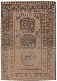 Afghan Natural Rug 90X139 Authentic Oriental Handknotted Light Brown/Brown (Wool, Afghanistan)