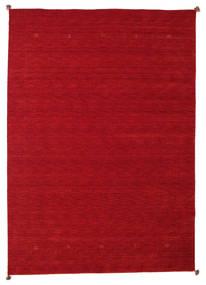 Loribaf Loom Matto 247X347 Moderni Käsinsolmittu Punainen/Tummanpunainen (Villa, Intia)