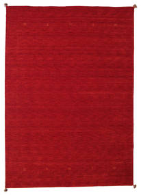 Loribaf Loom Vloerkleed 200X298 Echt Modern Handgeknoopt Rood/Donkerrood (Wol, India)