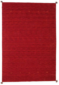 Loribaf Loom Matto 200X297 Moderni Käsinsolmittu Punainen/Tummanpunainen (Villa, Intia)