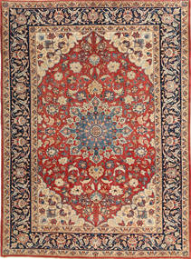 Najafabad Patina Rug 230X315 Authentic  Oriental Handknotted Dark Grey/Dark Red (Wool, Persia/Iran)