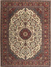 Hamadan Shahrbaf Patina Matto 300X395 Itämainen Käsinsolmittu Vaaleanruskea/Tummanruskea Isot (Villa, Persia/Iran)