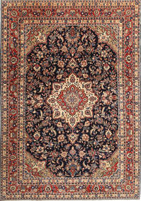 Hamadan Patina Rug 210X305 Authentic  Oriental Handknotted Dark Red/Light Brown (Wool, Persia/Iran)