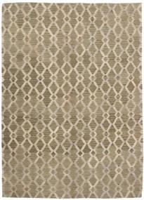 Kilim Modern Rug 172X233 Authentic  Modern Handwoven Light Brown (Wool, India)
