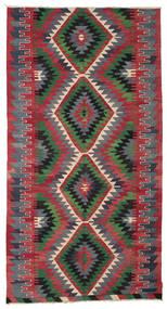 Kilim semi antique Turkish carpet XCGZK656