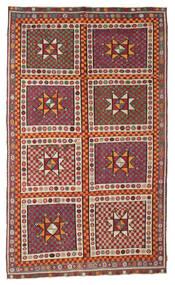 Kilim Semiantigua Turquía Alfombra 183X311 Oriental Tejida A Mano Roja/Marrón (Lana, Turquía)