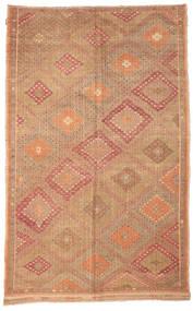 Kilim semi antique Turkish carpet XCGZK644