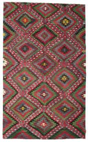 Kilim Semi-Antique Turquie Tapis 180X302 D'orient Tissé À La Main Gris Foncé/Rouge (Laine, Turquie)