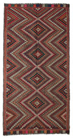 Kilim Semi Antique Turkish Rug 168X324 Authentic  Oriental Handwoven Light Brown/Brown (Wool, Turkey)