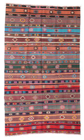 Kilim semi antique Turkish carpet XCGZK634