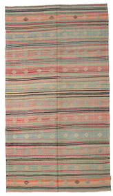 Kilim Semi Antique Turkish Rug 168X303 Authentic  Oriental Handwoven Light Brown/Light Grey (Wool, Turkey)