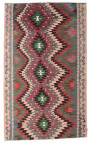 Kilim Semi-Antichi Turchi Tappeto 182X300 Orientale Tessuto A Mano Grigio Scuro/Nero (Lana, Turchia)