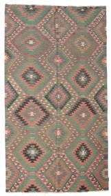 Kilim Semi Antique Turkish Rug 173X312 Authentic  Oriental Handwoven Light Brown/Dark Grey (Wool, Turkey)