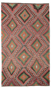 Kilim Semi Antique Turkish Rug 171X293 Authentic  Oriental Handwoven Dark Grey/Light Brown (Wool, Turkey)