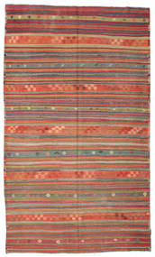 Kilim semi antique Turkish carpet XCGZK554