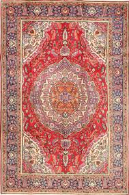 Tabriz Teppe 198X296 Ekte Orientalsk Håndknyttet Rust/Brun (Ull, Persia/Iran)