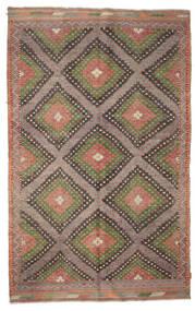 Kilim semi antique Turkish carpet XCGZK104