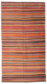 Kelim Semi Antický Turecko Koberec 166X302 Orientální Ruční Tkaní Oranžová/Světle Hnědá (Vlna, Turecko)
