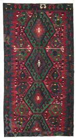 Kilim Semiantigua Turquía Alfombra 166X314 Oriental Tejida A Mano Púrpura Oscuro/Rojo Oscuro (Lana, Turquía)