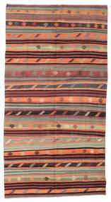 Kilim Semiantigua Turquía Alfombra 170X324 Oriental Tejida A Mano Marrón Claro/Marrón Oscuro (Lana, Turquía)