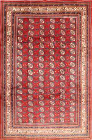Sarough Teppe 218X332 Ekte Orientalsk Håndknyttet Rust/Rosa (Ull, Persia/Iran)