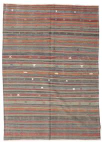 Kilim Félantik Törökország Szőnyeg 179X251 Keleti Kézi Szövésű Világosbarna/Sötétszürke (Gyapjú, Törökország)