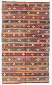 Kilim Semi Antique Turkish Rug 178X301 Authentic  Oriental Handwoven Light Brown/Brown (Wool, Turkey)
