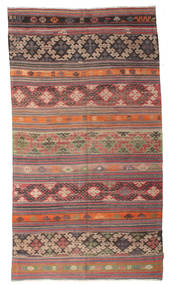 Kilim semi antique Turkish carpet XCGZK43