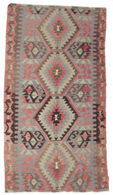 Kilim Semi Antique Turkish Rug 170X309 Authentic  Oriental Handwoven Light Brown/Dark Grey (Wool, Turkey)