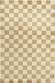 Himalaya Rug 220X330 Authentic  Modern Handknotted Light Brown/Beige ( India)