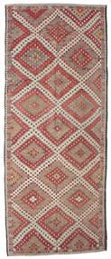 Kilim Semi-Antique Turquie Tapis 186X458 D'orient Tissé À La Main Tapis Couloir Marron Clair/Gris Clair (Laine, Turquie)