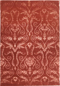 Himalaya Rug 170X245 Authentic  Modern Handknotted Dark Red/Rust Red ( India)