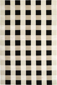 Himalaya Rug 220X332 Authentic  Modern Handknotted Beige/Black/Dark Beige ( India)