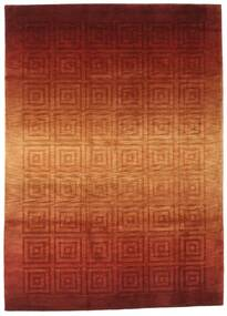 Himalaya Rug 172X241 Authentic  Modern Handknotted Rust Red/Crimson Red ( India)