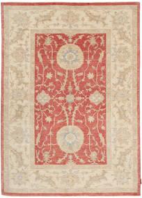 Ziegler Matto 168X237 Itämainen Käsinsolmittu Vaaleanruskea/Beige (Villa, Pakistan)