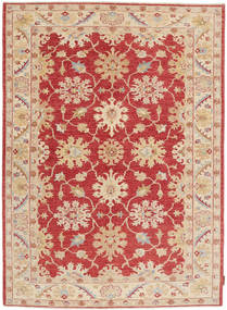 Ziegler Rug 149X209 Authentic  Oriental Handknotted Light Brown/Dark Red (Wool, Pakistan)