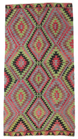 Kilim Semi Antique Turkish Rug 158X304 Authentic  Oriental Handwoven Light Green/Light Grey (Wool, Turkey)