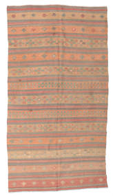 Kilim semi antique Turkish rug XCGZK199