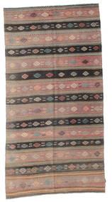 Kelim Semiantik Turkisk Matta 162X305 Äkta Orientalisk Handvävd Ljusbrun/Brun (Ull, Turkiet)