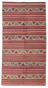 Kilim Pół -Antyk Tureckie Dywan 170X325 Orientalny Tkany Ręcznie Ciemnoczerwony/Jasnobrązowy (Wełna, Turcja)