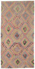 Kilim Semi Antique Turkish Rug 177X357 Authentic  Oriental Handwoven Light Brown/Dark Grey (Wool, Turkey)