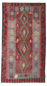 Kilim Semiantigua Turquía Alfombra 155X279 Oriental Tejida A Mano Roja/Marrón Oscuro (Lana, Turquía)