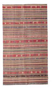 Kilim Pół -Antyk Tureckie Dywan 175X315 Orientalny Tkany Ręcznie Jasnobrązowy/Rdzawy/Czerwony (Wełna, Turcja)