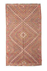 Kelim Semiantik Turkisk Matta 167X290 Äkta Orientalisk Handvävd Ljusbrun/Brun (Ull, Turkiet)
