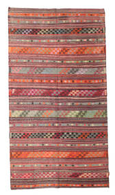 Kelim Semi-Antiek Turkije Tapijt 176X323 Echt Oosters Handgeweven Lichtbruin/Donkerrood/Roestkleur (Wol, Turkije)