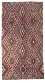 Kelim Semiantik Turkisk Matta 165X304 Äkta Orientalisk Handvävd Ljusgrå/Röd (Ull, Turkiet)