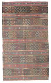 Kelim Semiantiikki Turkki Matto 176X298 Itämainen Käsinkudottu Vaaleanruskea/Tummanharmaa (Villa, Turkki)